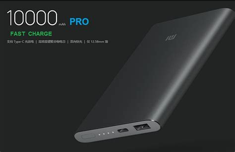 jual xiaomi power bank pro 10000mah fast charge original