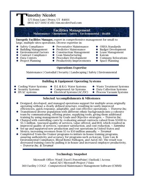 professional resume template professional resume sles by julie walraven cmrw