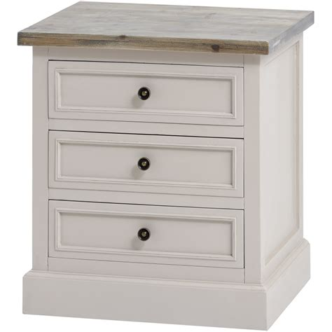 3 drawer side table the stadley collection 3 drawer side table