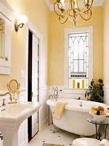 Background mixed with small white bathroom set also gold chandelier