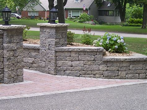 retaining walls wall materials block walls madison
