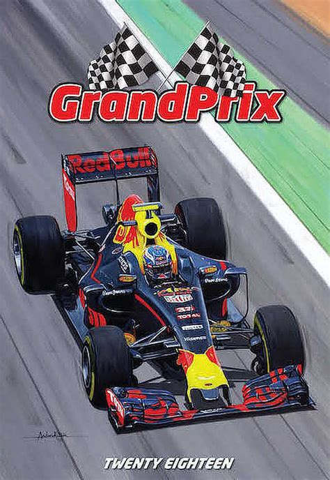 F1 Kalender 2018 Automobile Kitson Andrew Formula 1 Calendar