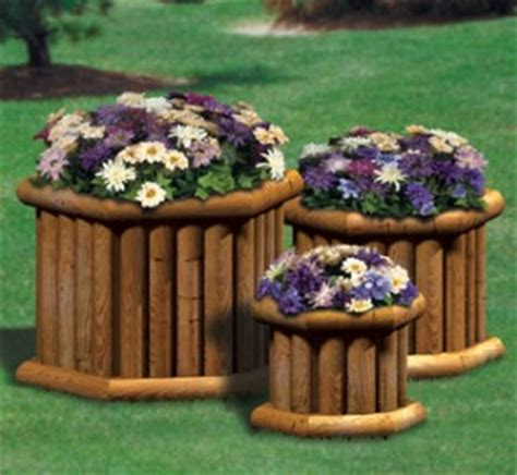 Landscape Timber Hexagon Planters Doug S Woodcrafts Patterns
