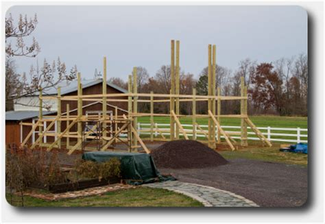 Cool Pole Barns How To Lay Out A Square Pole Building Pole Building Kits