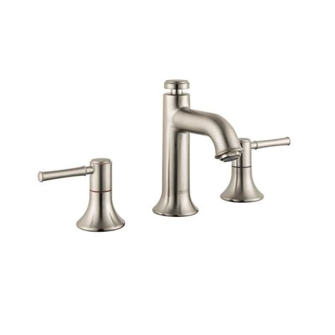 Hansgrohe Bathroom Fixtures Hansgrohe Talis C Two Handle Widespread Bathroom Faucet Nickel 14113821 J Keats