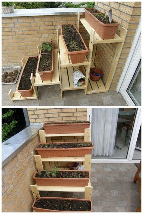 herbal regal   terrace garden tool storage garden