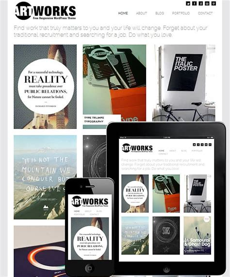 wordpress themes graphic design portfolio free premium premium portfolio responsive wordpress themes