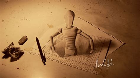 Tutorial Gambar 3d Pencil | 33 of the best 3d pencil drawings bored panda