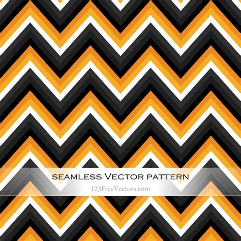 random zig zag pattern orange and black zig zag seamless pattern by