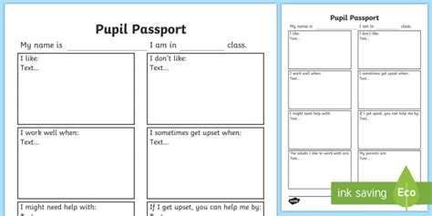 pupil passport template pupil passport template 28 images pupil passport