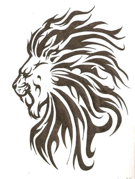 tribal tattoo lion the 25 best tribal ideas on mens