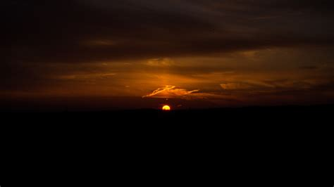 dark sunset evening  laptop full hd p hd