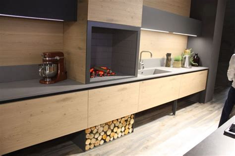 Modern Island Kitchen Wood Kitchen Cabinets Just One Way To Feature Natural Material
