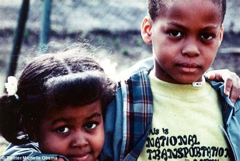 michael ealy childhood photos michelle obama shares childhood photo for national