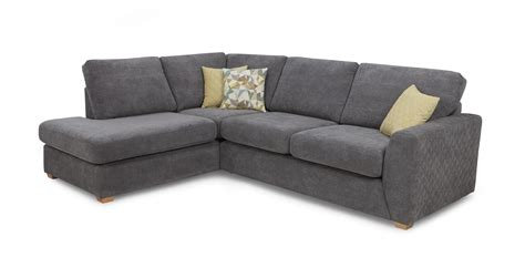 Right Corner Sofas by Astaire Right Facing Arm Open End Corner Sofa Sherbet