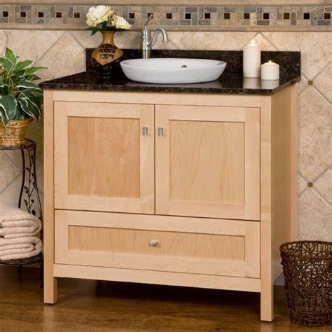 bathroom vanity maple allentown 36srb maple vanity left faucet hole 3 4