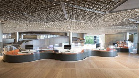 Bloomberg Pantry by Bloomberg S European Headquarters By Foster Partners