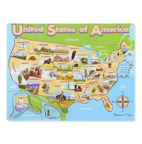map of usa jigsaw puzzle usa map wooden jigsaw puzzle
