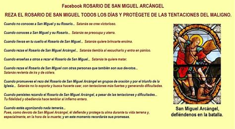 rezar por miguel ngel 14 best images about rosario de san miguel arc 225 ngel on san miguel the o jays and blog