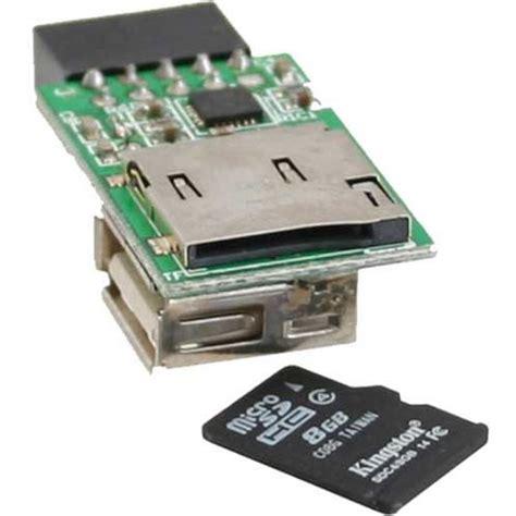 Card Reader Single Slot Microsd Card inline microsd card reader modul single slot kartenleser kartenleser intern mindfactory de