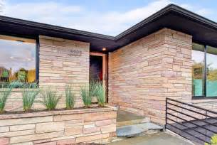 mid century modern exterior mid century modern exterior in seattle mid century