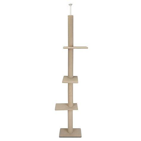 cat craft 22 quot three tier carpet climbing cat tree new