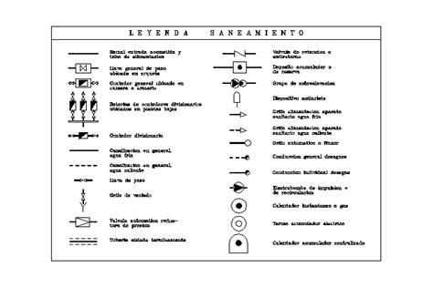 Legend Plumbing by Plumbing Legend Symbols