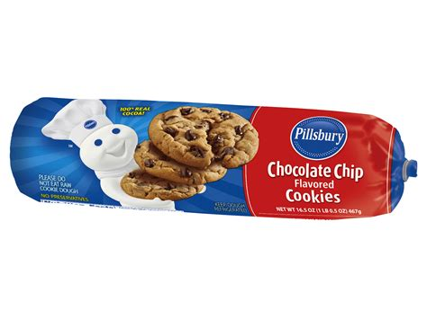pillsbury cookies pillsbury chocolate chip cookie dough recipe