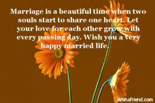 Married Life Wishes Happy Married Life Wishes Quotes Quotesgram