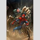 Sandman Vs Spiderman | 600 x 899 jpeg 116kB