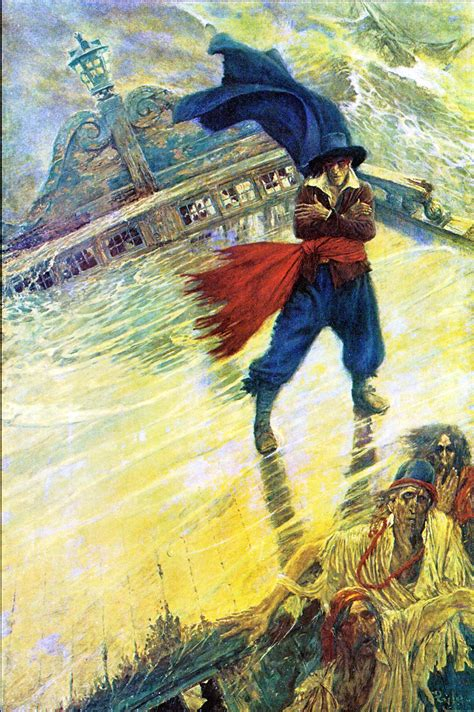 captain vander decken legend of the flying dutchman ghostly apparition of the