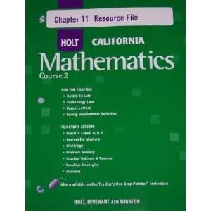 Pre Mba Math Course by Holt Middle School Math Homework And Practice