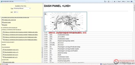 how to download repair manuals 2001 mitsubishi pajero security system mitsubishi pajero 2013 service manual free auto repair manuals