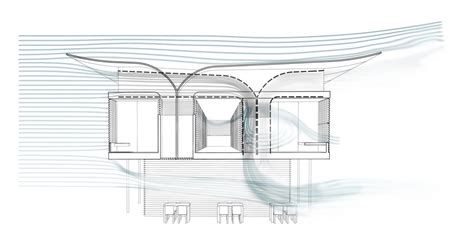 wind architecture gallery of in progress hostel company retreat and
