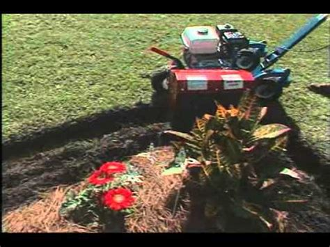 ez trench bed edger best features of e z trench bed edgers youtube