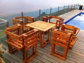 How To Make Patio Furniture Out Of Wood Pallets 15 Diy Pallet Furniture For Outdoors 99 Pallets