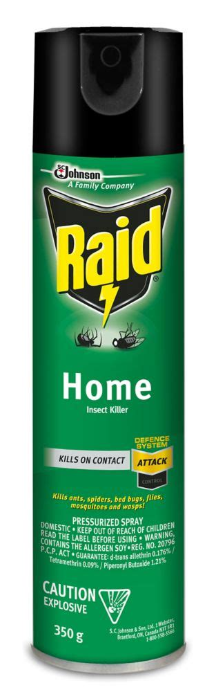 raid home insect killer the home depot canada