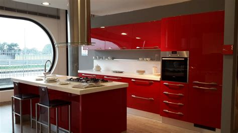 cucina scavolini rossa scavolini cucina flux scontato 50 cucine a prezzi