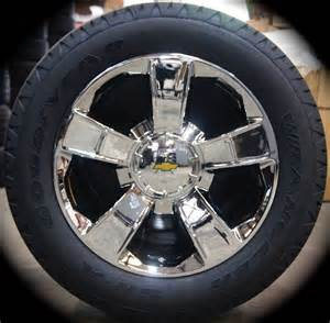 Silverado Truck Wheels And Tires 4 New 2017 Chevy Silverado Tahoe Suburban Avalanche 20