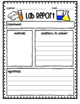 lab report the o jays science and kid