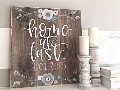 hand painted wood signs home decor wood sign hand painted rustic decor home decor
