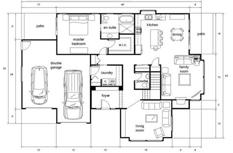 cad house plans how the architectural industry uses cad scan2cad
