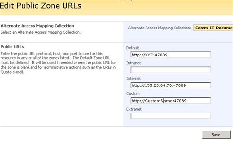 url host changing the dns or url host header in sharepoint 2007 site