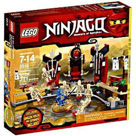Exclusive Set lego ninjago skeleton bowling exclusive set 2519