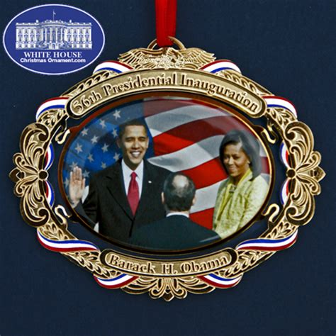 2009 barack obama 56th presidential inauguration ornament