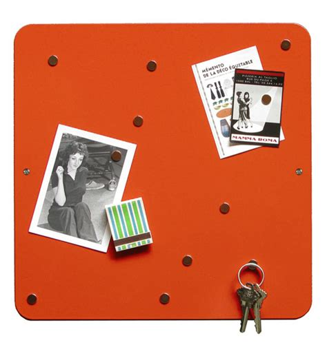 magnetic bulletin board orange magnetic bulletin board in memo and bulletin boards