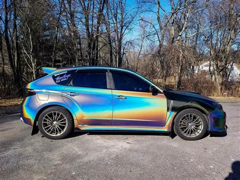 subaru wrapped subaru wrx sti wrapped by masswraps wrap ideas