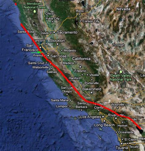 san andreas fault world map   www.pixshark.com images