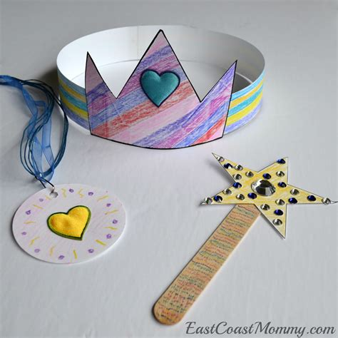 and crafts east coast preschool theme princess tea
