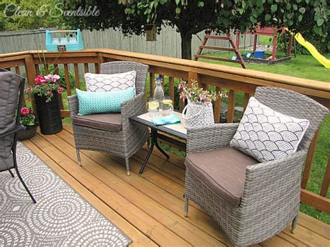 summer patio ideas clean and scentsible
